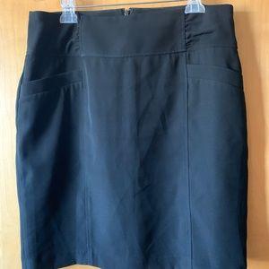 Nine West Black Mini Skirt